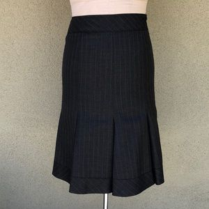 Moschino pleated fit and flare pencil skirt